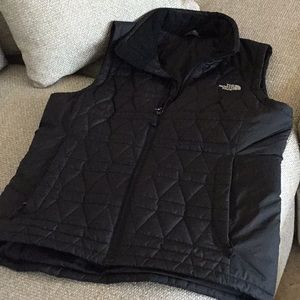 North Face vest, size medium